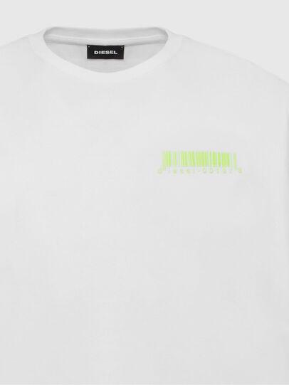 Diesel - T-JUST-SLITS-X84, Weiß - T-Shirts - Image 3