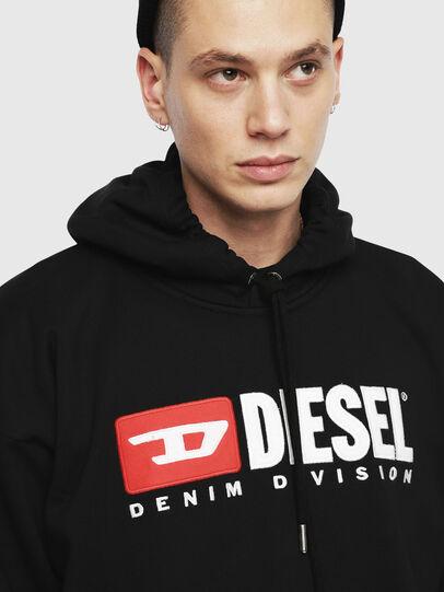 Diesel - S-DIVISION, Schwarz - Sweatshirts - Image 3
