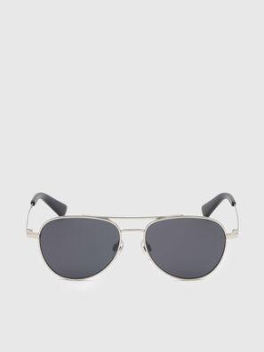 DL0291, Silber/Schwarz - Kid Brillen