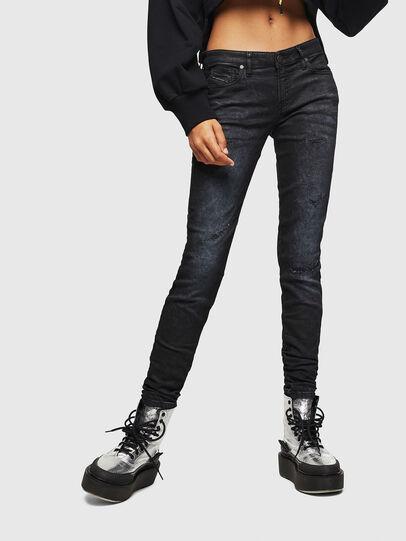 Diesel - Gracey JoggJeans 069GP, Schwarz/Dunkelgrau - Jeans - Image 1