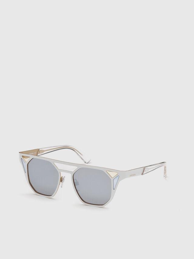 Diesel - DL0249, Weiß - Sonnenbrille - Image 4