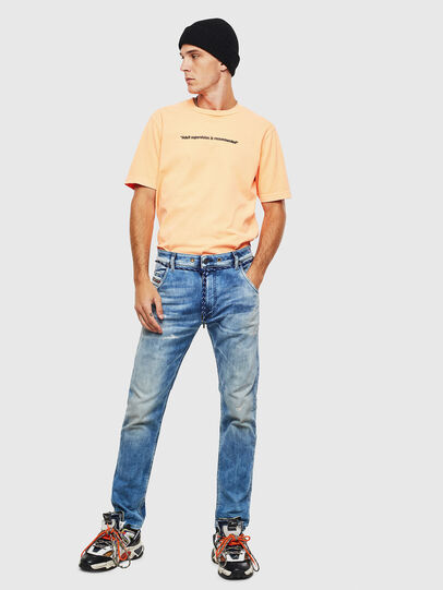 Diesel - Krooley JoggJeans 0099Q, Mittelblau - Jeans - Image 6