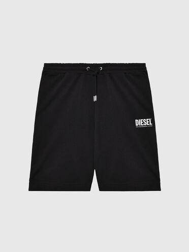 Shorts mit neonfarbenem Diesel-Logo