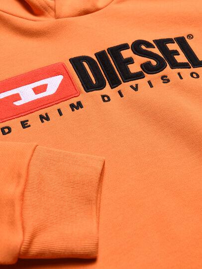 Diesel - SDIVISION OVER, Orange - Sweatshirts - Image 3