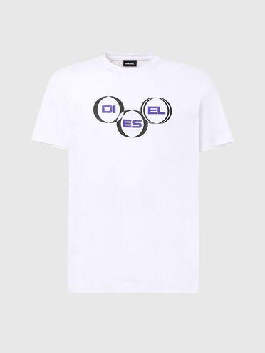 T-Shirt mit Diesel-Logo
