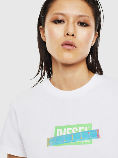 Diesel - T-SILY-S2, Weiß - T-Shirts - Image 3