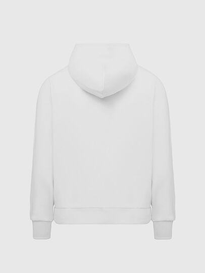 Diesel - S-GIRK-HOOD-K21, Weiß - Sweatshirts - Image 2