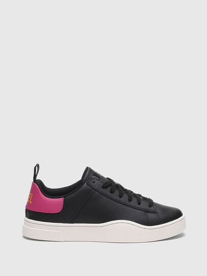 Diesel - S-CLEVER LOW LACE W, Schwarz/Rosa - Sneakers - Image 1