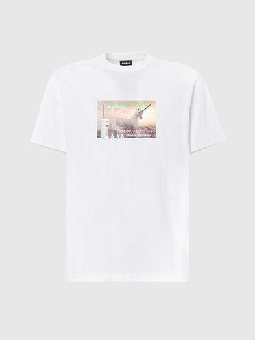 T-Shirt mit Fotomotiv