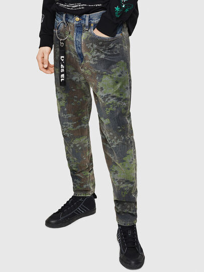 Diesel - D-Vider 0078E, Mittelblau - Jeans - Image 5