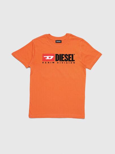 Diesel - TJUSTDIVISION, Orange - T-Shirts und Tops - Image 1