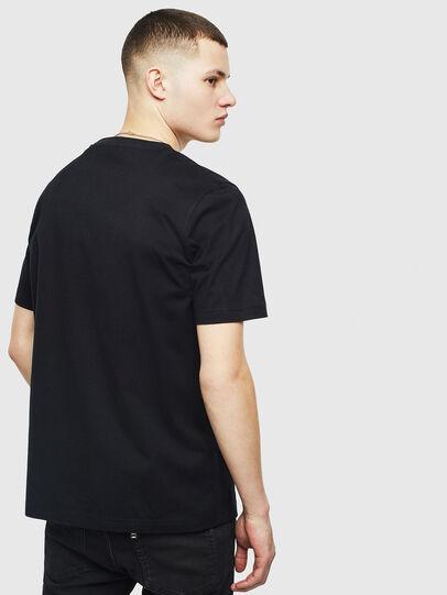 Diesel - T-JUST-T20, Schwarz - T-Shirts - Image 2