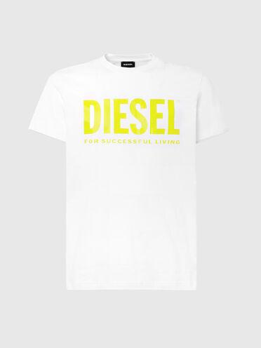 Logo-T-Shirt aus feinem Baumwolljersey