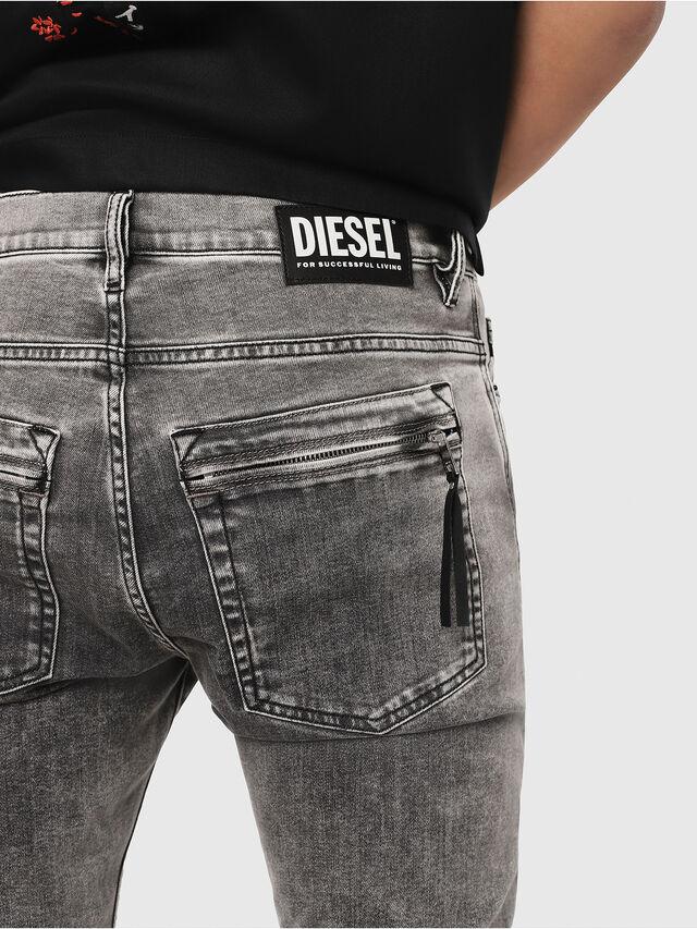 Diesel - D-Amny 069FJ, Schwarz/Dunkelgrau - Jeans - Image 3