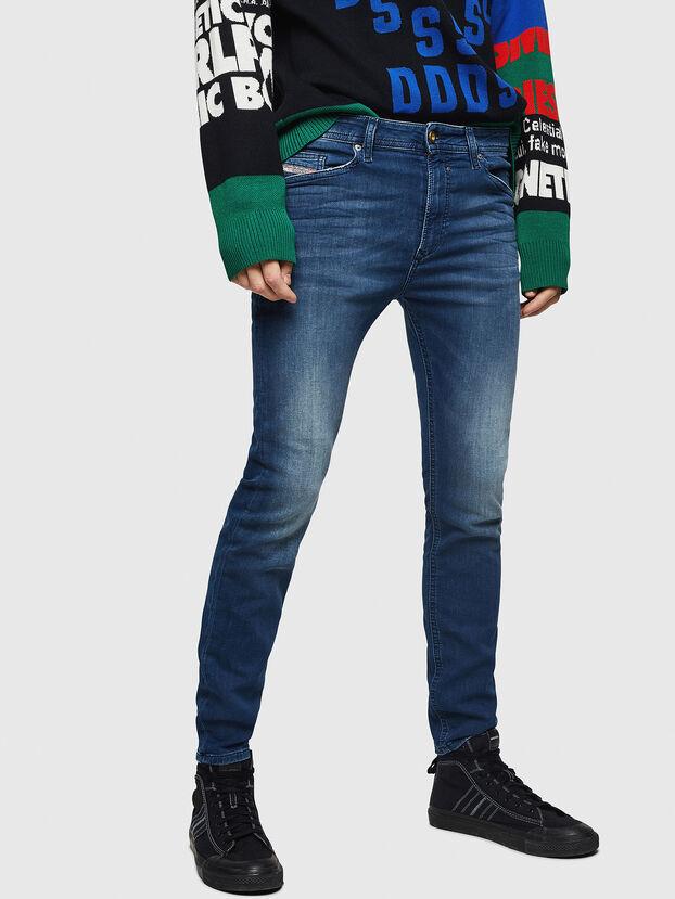 Spender JoggJeans 069HC, Dunkelblau - Jeans