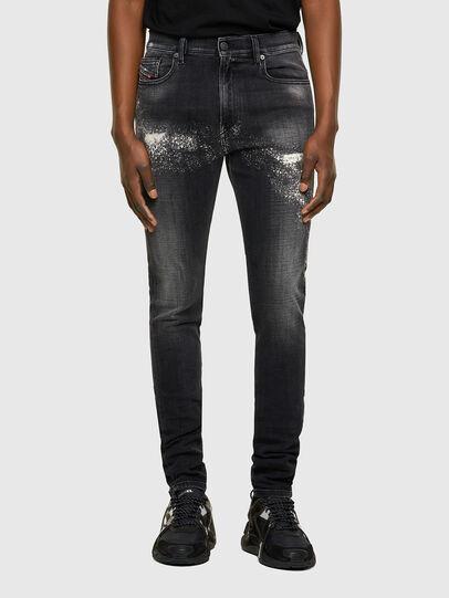 Diesel - D-Amny 009QW, Schwarz/Dunkelgrau - Jeans - Image 1