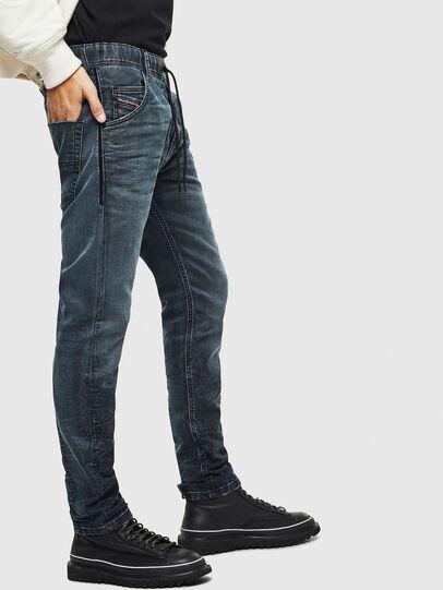 Diesel - Krooley JoggJeans 069MD, Dunkelblau - Jeans - Image 4