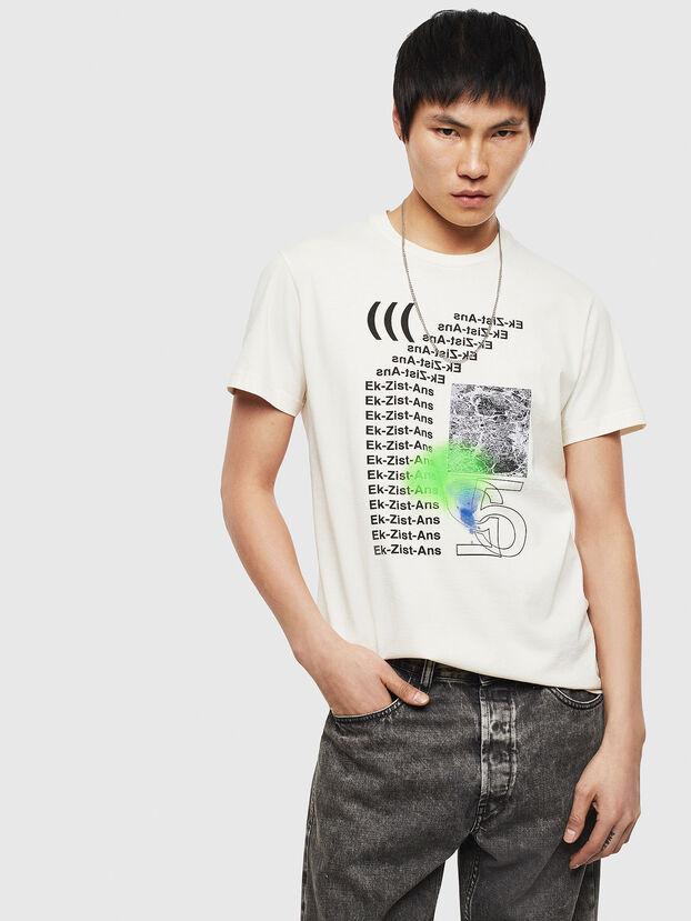 T-DIEGO-S11, Weiß - T-Shirts
