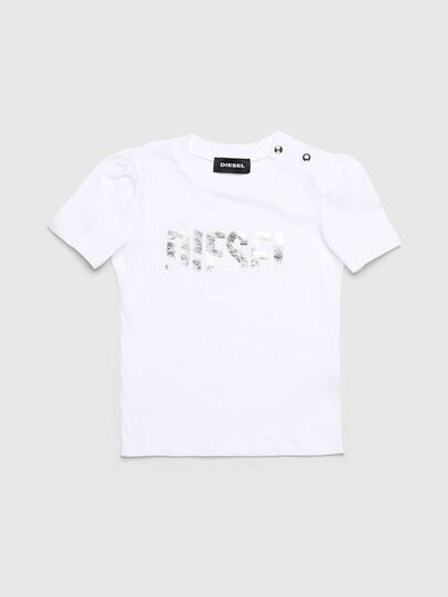Diesel - TRALLYB, Weiß - T-Shirts und Tops - Image 1