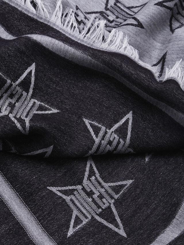 Diesel - S-STAR, Grau/Schwarz - Schals - Image 2