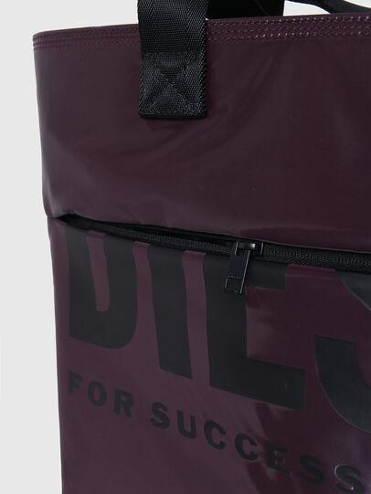 Diesel - F-BOLD SHOPPER III, Dunkelviolett - Shopper und Schultertaschen - Image 5