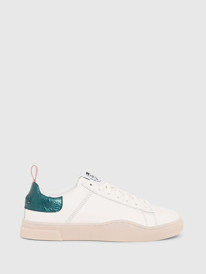 Diesel - S-CLEVER LOW LACE W, Weiß/Grün - Sneakers - Image 1