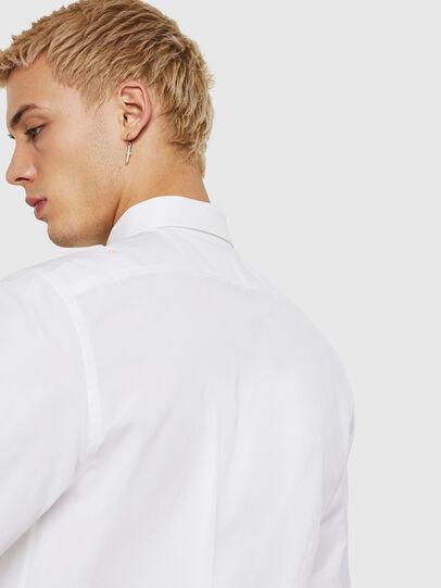 Diesel - S-BILL, Weiß - Hemden - Image 4