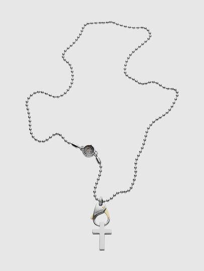 Diesel - DX1149, Silber/Weiß - Halsketten - Image 1