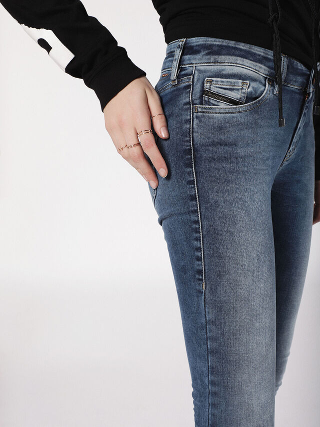 SLANDY 084NM, Jeansblau