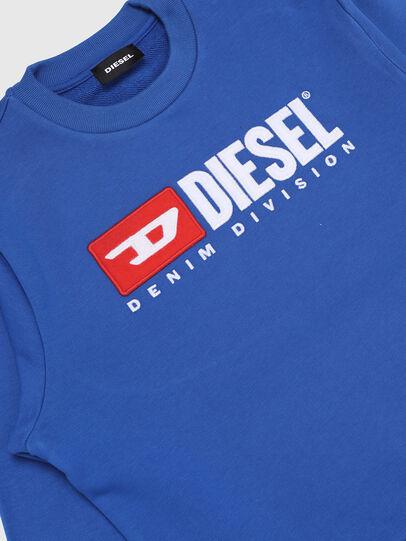 Diesel - SCREWDIVISION OVER, Himmelblau - Sweatshirts - Image 3