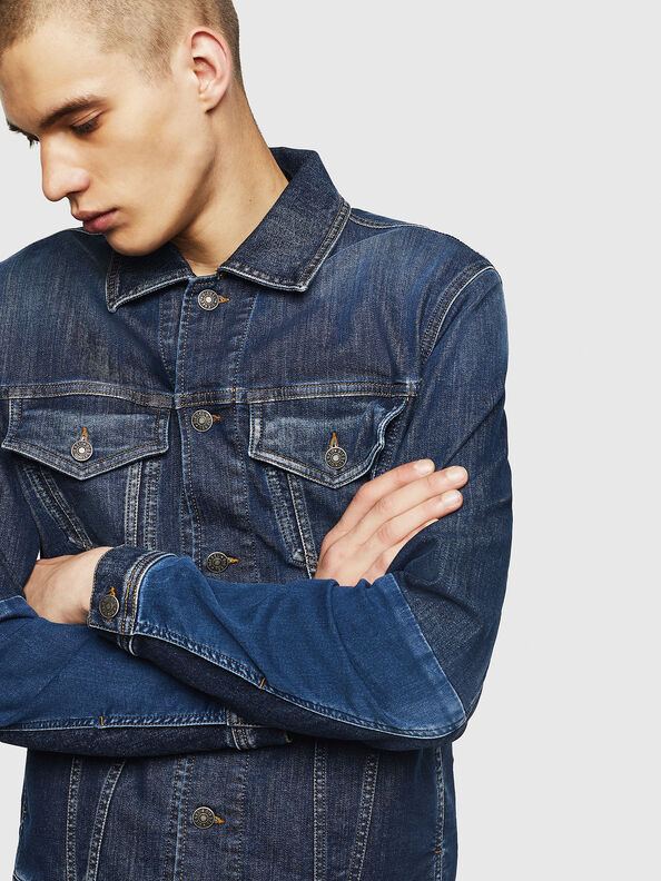 D-NHILL-SP JOGGJEANS,  - Denim jacken
