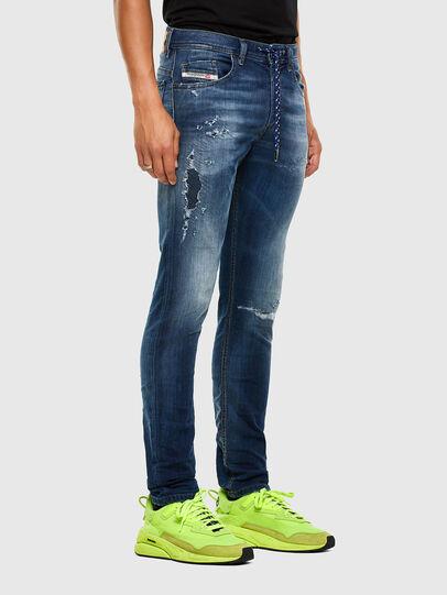 Diesel - Thommer JoggJeans 069PL, Dunkelblau - Jeans - Image 5