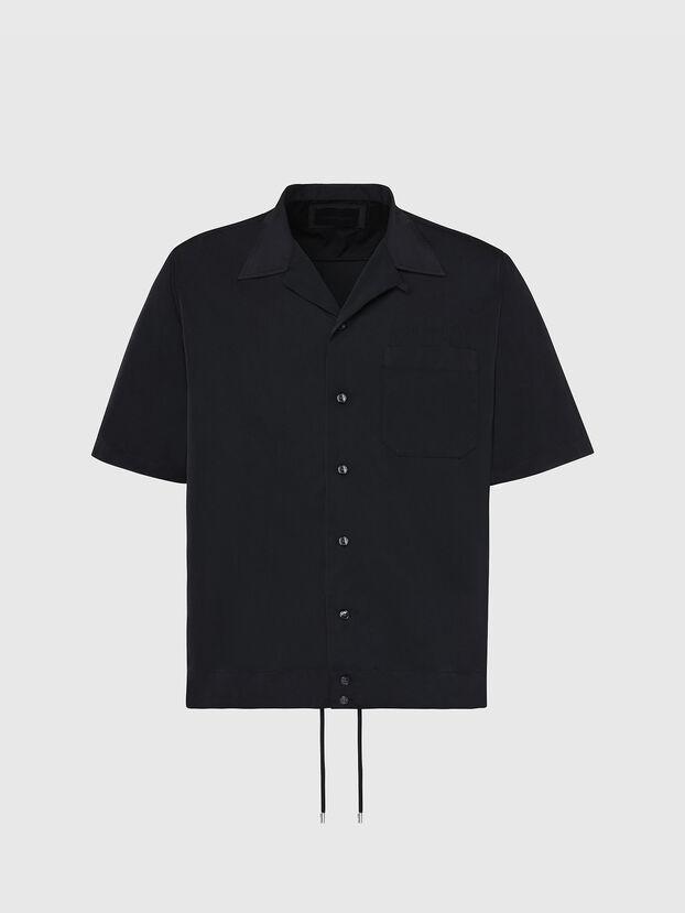 S-MOOL-A, Schwarz - Hemden