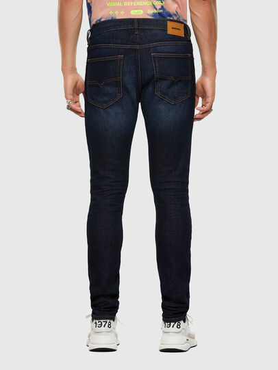 Diesel - D-Luster 009EQ, Dunkelblau - Jeans - Image 2