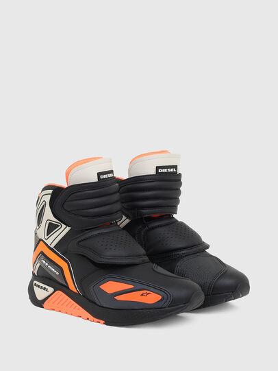 Diesel - ASTARS-SKBOOT, Schwarz/Orange - Sneakers - Image 2