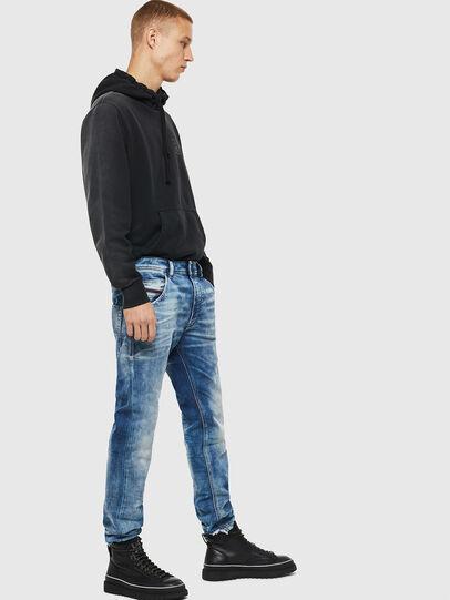 Diesel - Krooley JoggJeans 087AC, Mittelblau - Jeans - Image 4