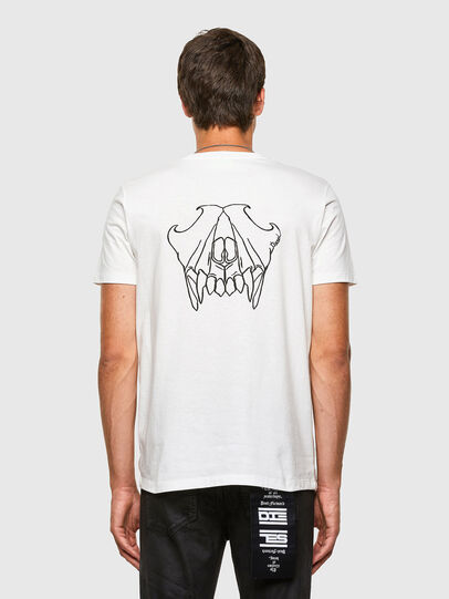 Diesel - T-INY, Weiß - T-Shirts - Image 2
