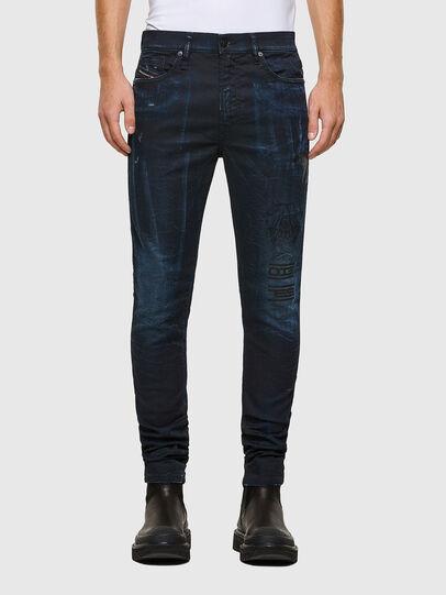 Diesel - D-REEFT JoggJeans® 069RB, Dunkelblau - Jeans - Image 1