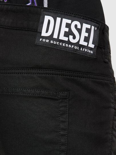 Diesel - FAYZA JoggJeans® 069NC, Schwarz/Dunkelgrau - Jeans - Image 4
