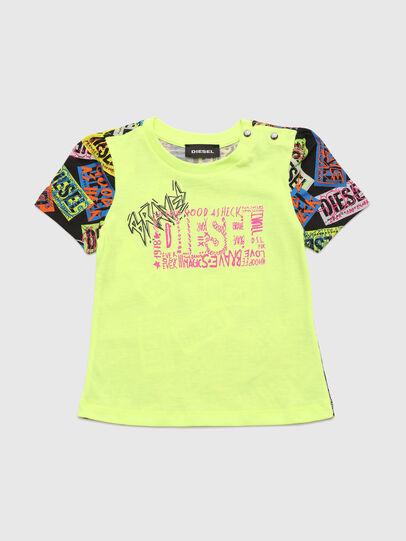 Diesel - TAIRB, Neongrün - T-Shirts und Tops - Image 1