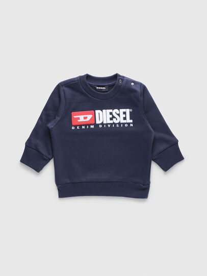 Diesel - SCREWDIVISIONB, Marineblau - Sweatshirts - Image 1