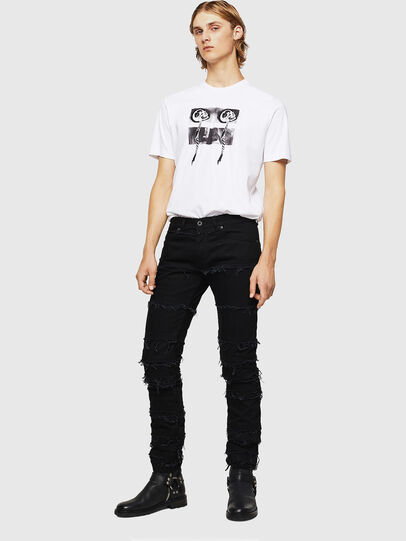 Diesel - TY-X1, Weiß - T-Shirts - Image 5