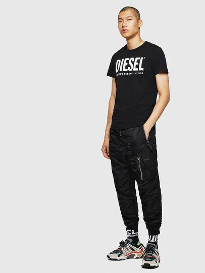 Diesel - T-DIEGO-LOGO, Schwarz - T-Shirts - Image 7