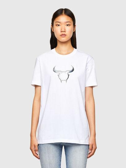 Diesel - CL-T-DIEGOS-O2, Weiß - T-Shirts - Image 2