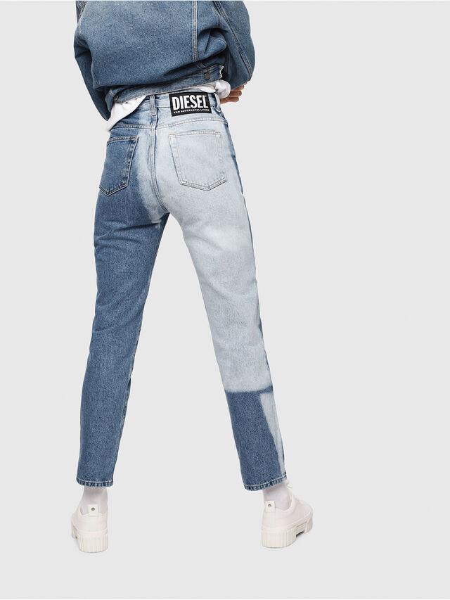 Diesel - D-Eiselle 0077V, Mittelblau - Jeans - Image 2