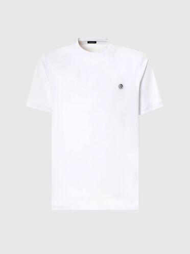 Einfarbiges T-Shirt mit Irokesen-Logo
