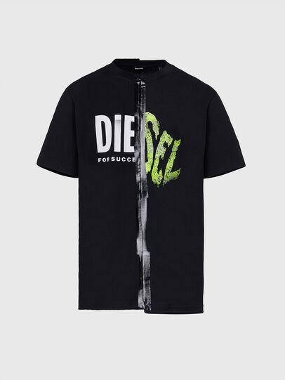 Diesel - T-JUBBLE-X2, Schwarz - T-Shirts - Image 1