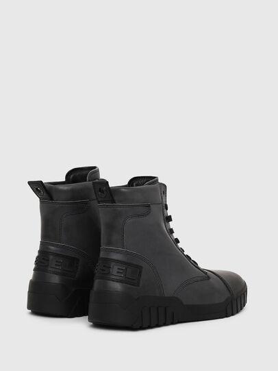 Diesel - H-RUA AM, Dunkelblau - Sneakers - Image 2