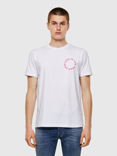 Diesel - T-DIEGOS-B7, Weiß - T-Shirts - Image 1