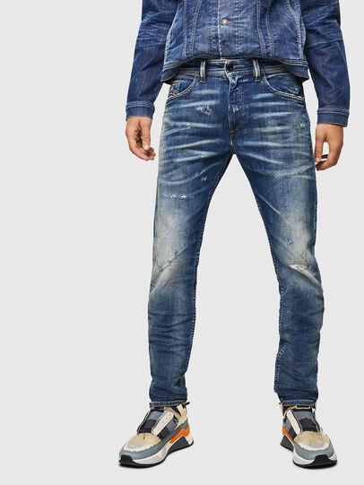 Diesel - Thommer JoggJeans 0870Q, Mittelblau - Jeans - Image 1